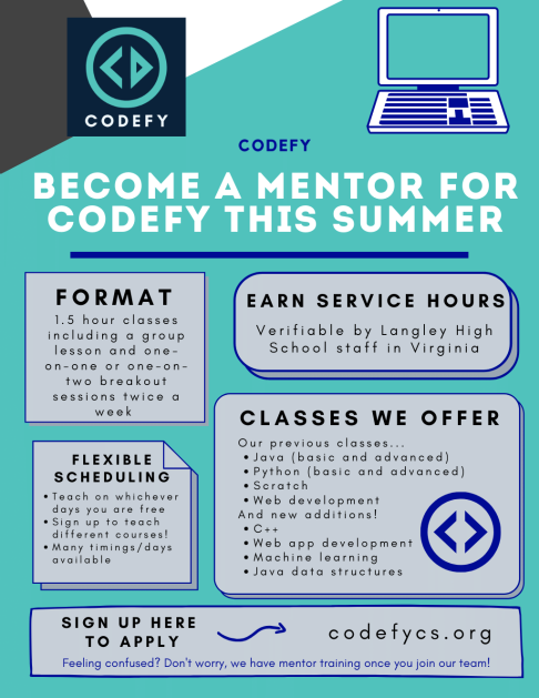 Mentor Flyer graphic