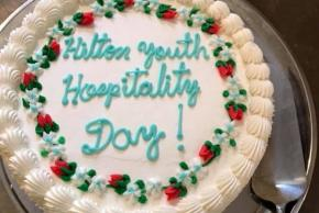 Cake to celebrate Youth In Hospitality
